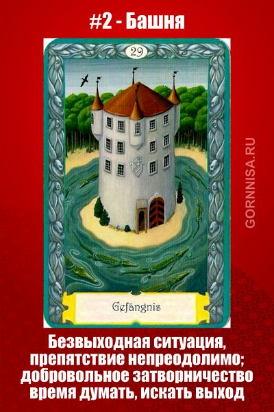 Карта #2 - Башня - https://gornnisa.ru/