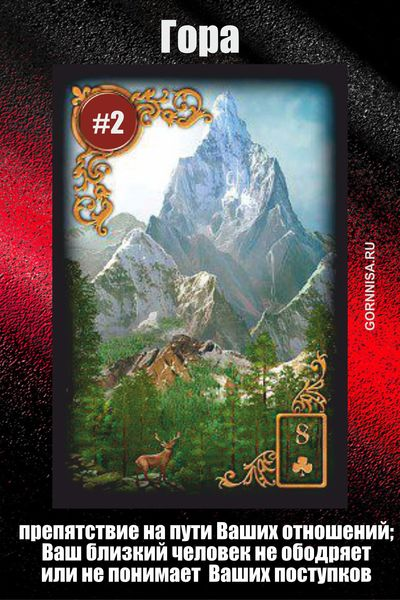 Карта #2 - Гора - GORNNISA.RU