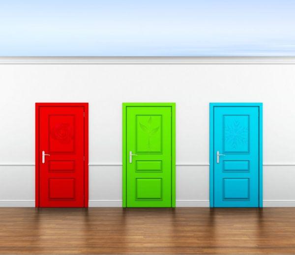 Интуитивный тест: Выберите дверь, которую вам хотелось бы открыть и узнайте, что от вас скрывают