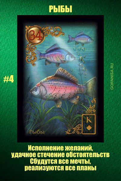 Карта #4 - Рыбы - https://gornnisa.ru/