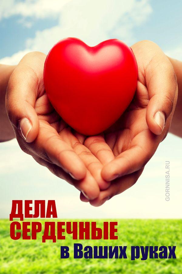 Дела сердечные - в Ваших руках - https://gornnisa.ru