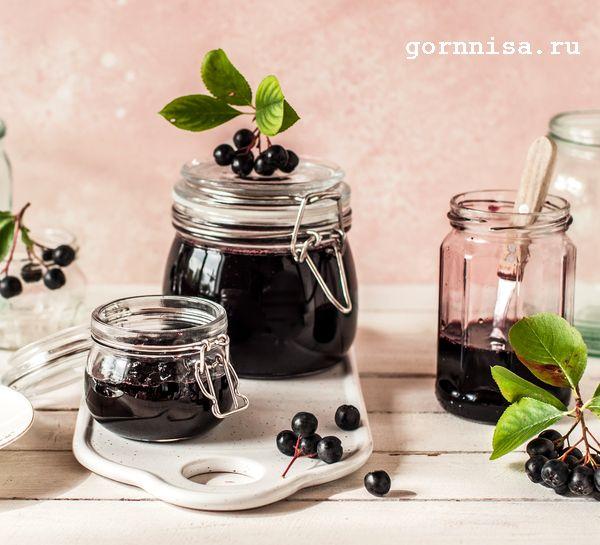 Варенье из аронии на зиму. Ароматное и не закисает. https://gornnisa.ru/wp