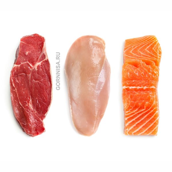 Рыба, мясо, яйца