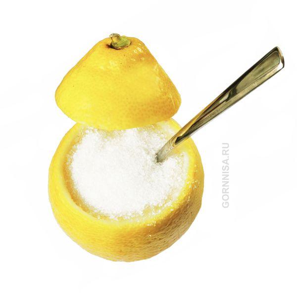 Сахар с лимоном - https://gornnisa.ru