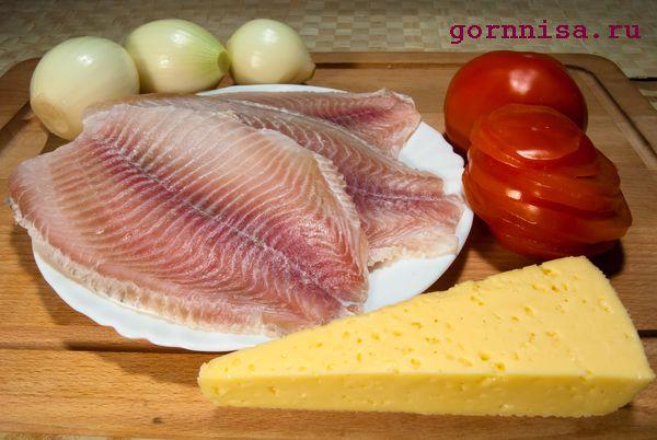 Запечённая рыба под сыром. Быстрый рецепт  https://gornnisa.ru/