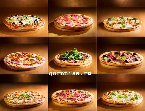 Вкусное тесто для домашней пиццы. Простой рецепт  https://gornnisa.ru/