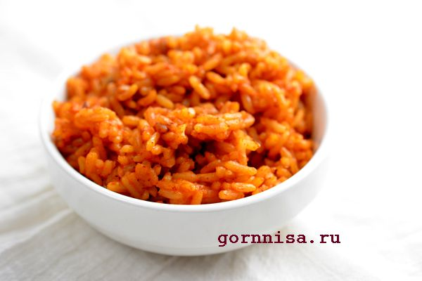 Вкусный жареный в помидорах рис по-турецки. Интересный рецепт  https://gornnisa.ru/