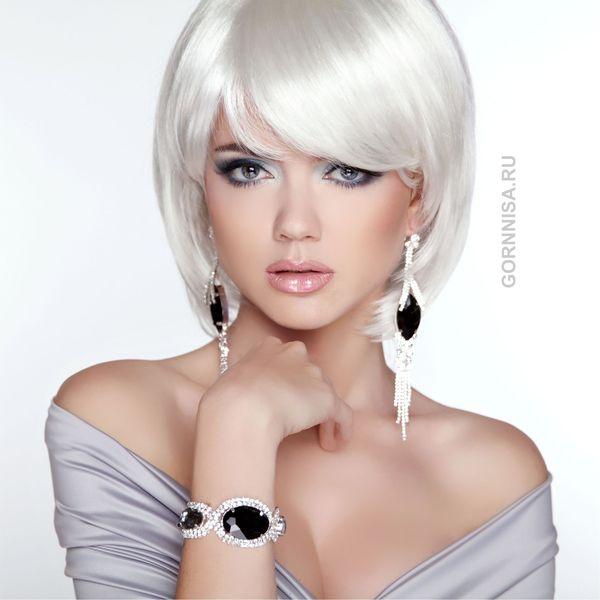 Акцент на серьги - выбираем по форме лица - gornnisa.ru