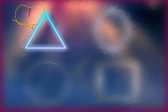 Треугольная форма оберега