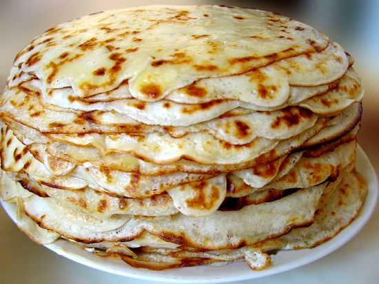 Пирог из блинов «Хижина монаха»