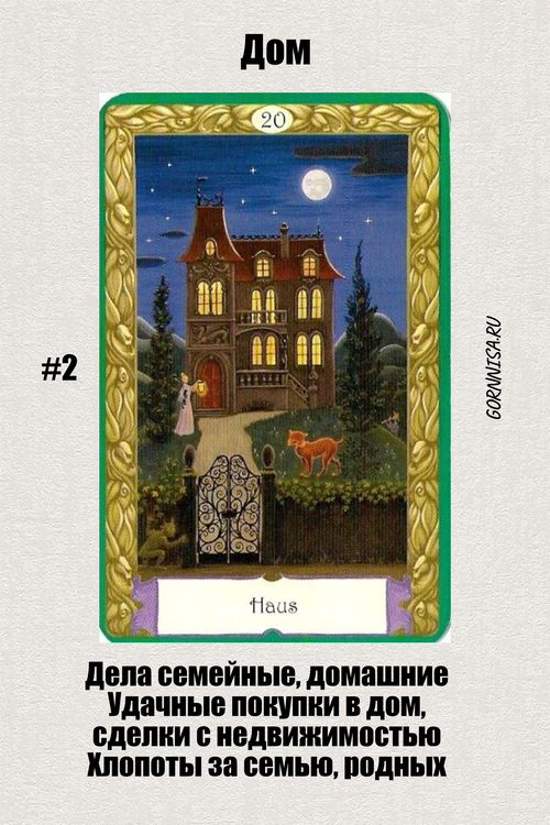 Карта #2 – Дом - https://gornnisa.ru