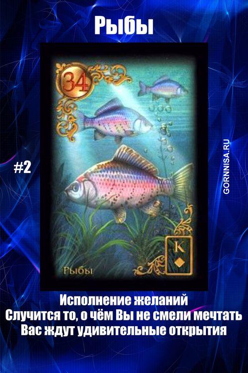 Карта #2 - Рыбы - https://gornnisa.ru/