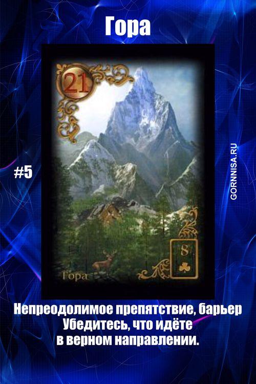 Карта #5 - Гора - https://gornnisa.ru/