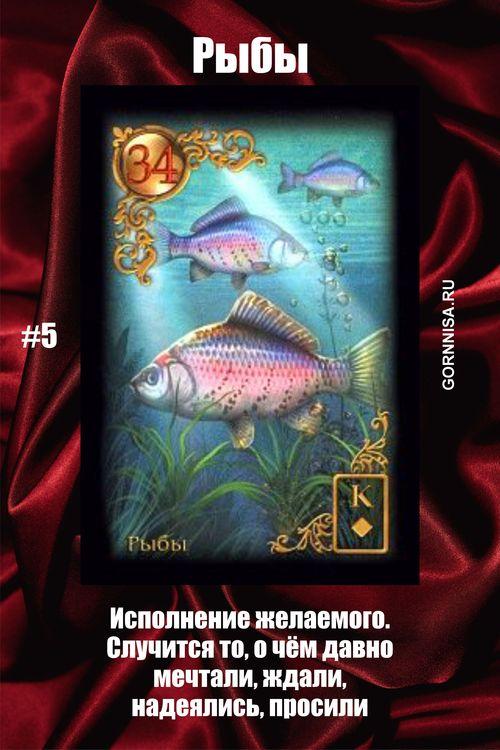 Карта #5 – Рыбы - https://gornnisa.ru