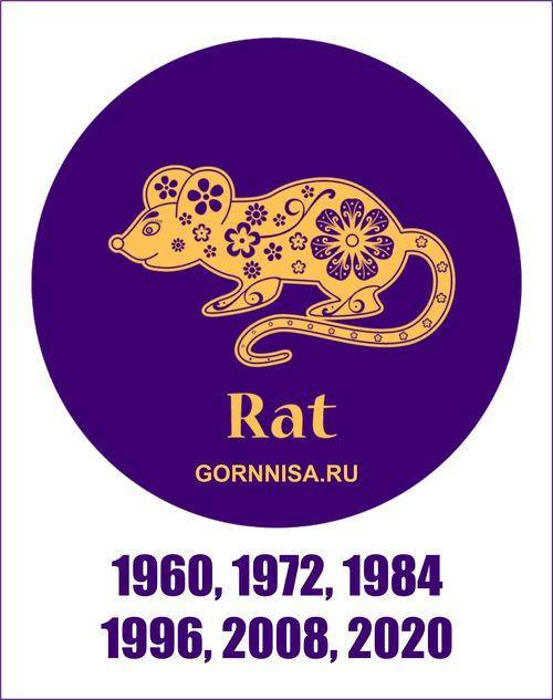 Как изменяет год рождения каждый знак зодиака https://gornnisa.ru/ Крыса