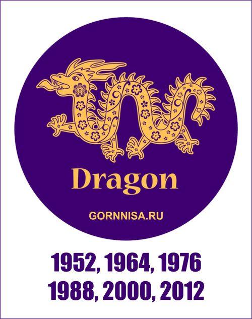 Как изменяет год рождения каждый знак зодиака https://gornnisa.ru/ Дракон
