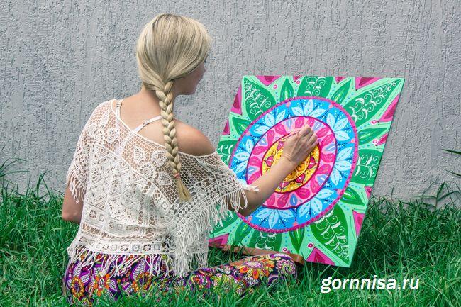 Мандалы - искусство, духовность, терапия - создаём мандалу для себя - https://gornnisa.ru/