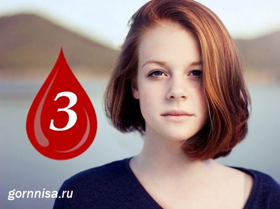 Тип крови B или 3 группа крови