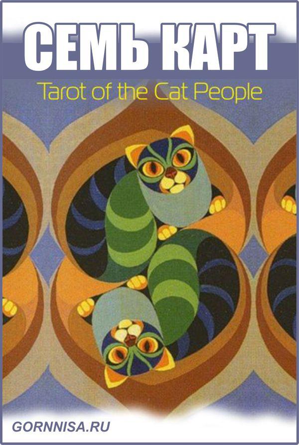 Семь карт Tarot of the Cat People