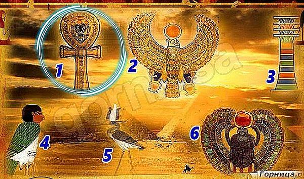 Символ 1 - Анкх - https://gornnisa.ru/