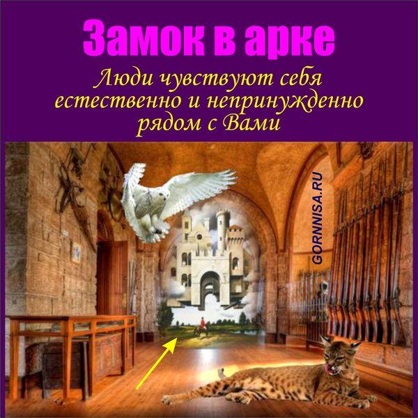 Замок в арке - https://gornnisa.ru/