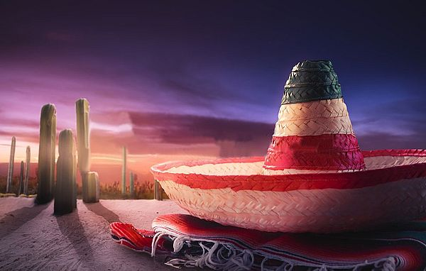 Меган Маркл возможно в Мексике Мексиканская шляпа