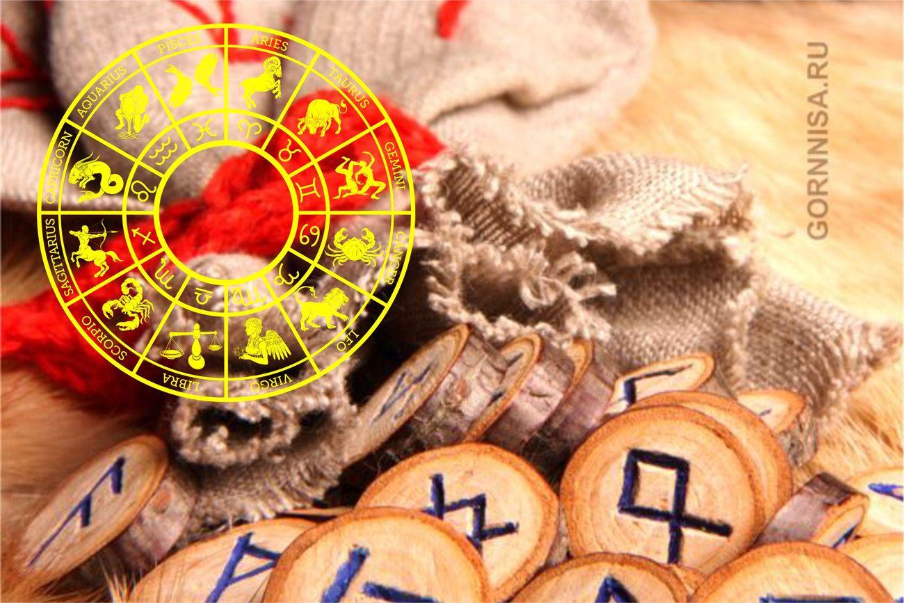 Рунический гороскоп для знаков зодиака - на последние дни уходящего года