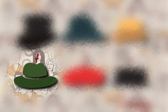 4 шляпа