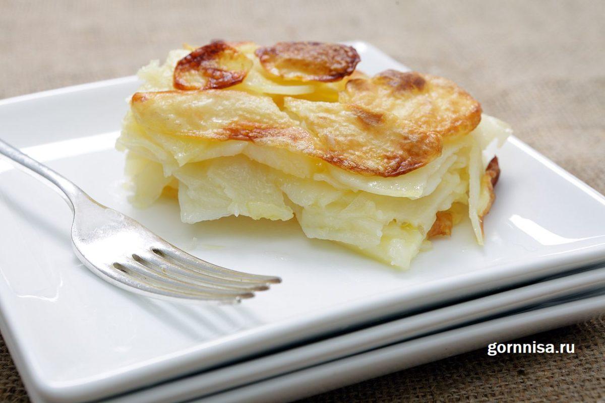 Рецепт картошки «Анна» - всего 2 компонента