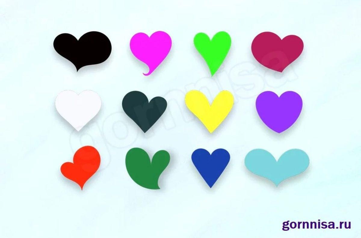 Тест на желание - Выберите сердечко