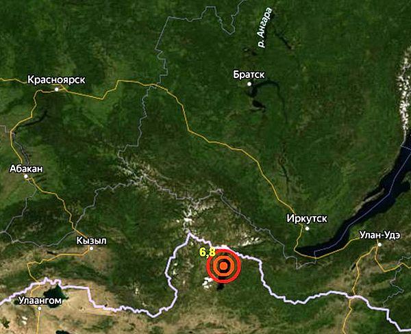 Где еще были зафиксированы мощные подземные толчки землетрясения В эпицентре сила толчков составила 8. 7 балла
