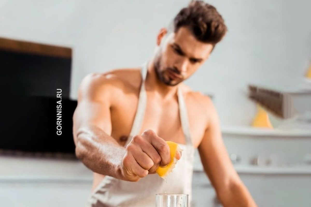 Соки и фрукты полезные для здоровья мужчин