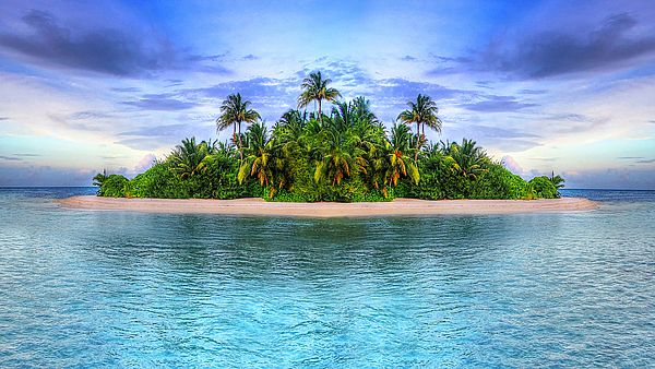 3 - Море, остров