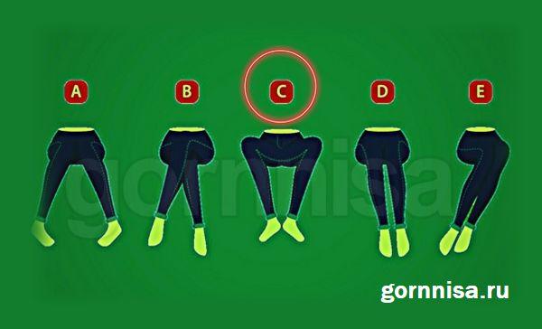 Тест - Язык тела - характеристика личности https://gornnisa.ru/ Вариант C