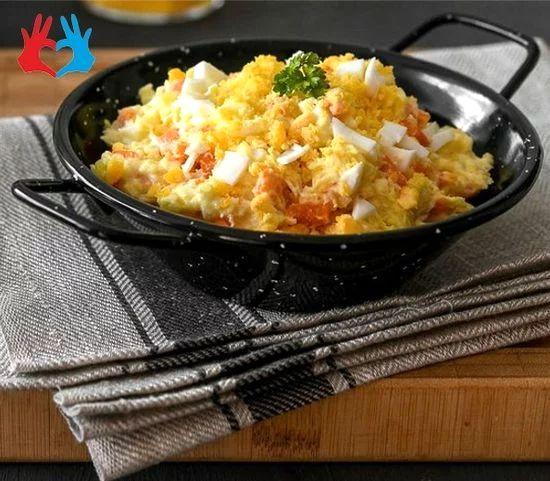 Картофельный салат «Испанский»