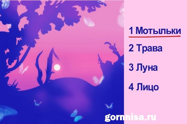 1- Мотыльки