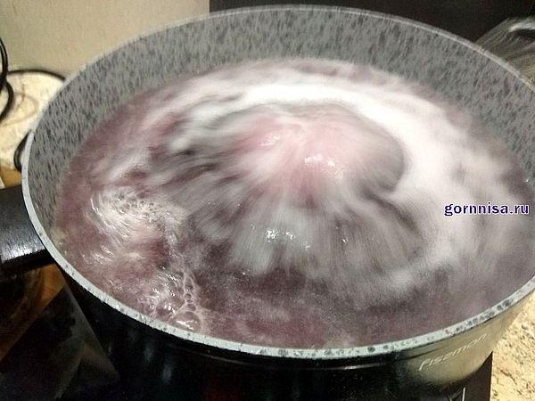 Кипящий сироп