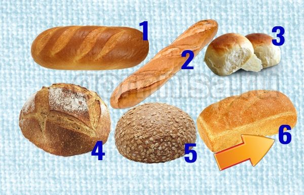 6 - Белый хлеб